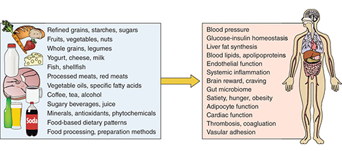 example of sugary food and its effect