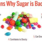 reasons avoid excessive sugar