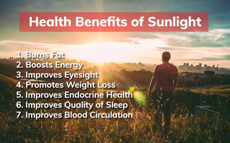 benefits from sunlight